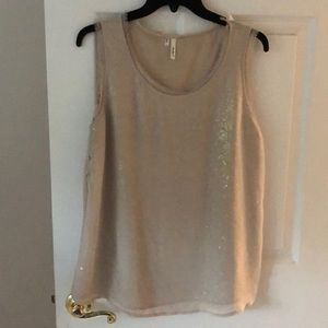 Tops - Champagne shimmer top!!